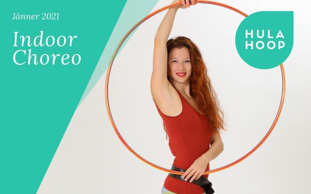 Hula Hoop: Indoor Flow (Teil 1)