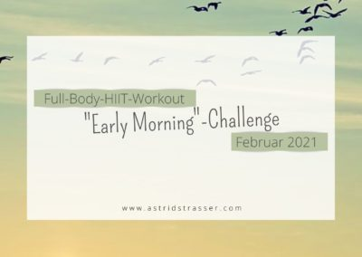 """""""Early Morning""""-Challenge"""