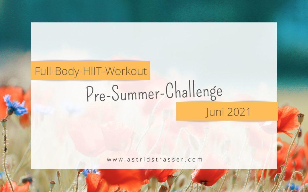 Pre-Summer-Challenge